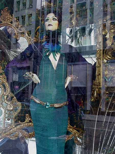Bergdorf Goodman Christmas window